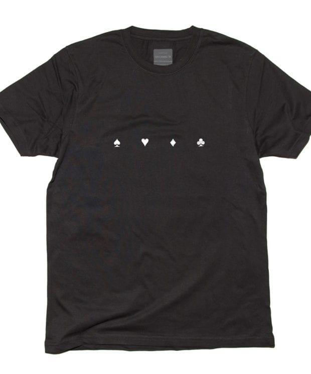 Spade Heart Diamond CloverTシャツ