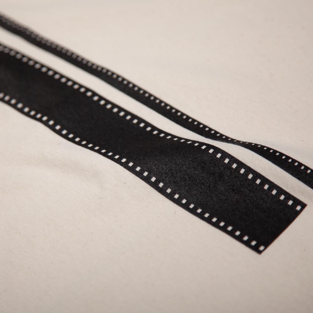 8mm,35mm フィルム Tシャツ シルクスクリーン印刷 拡大