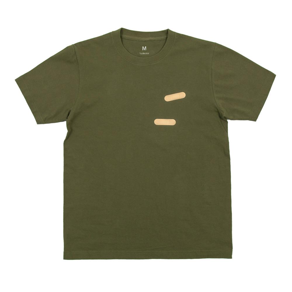 絆創膏 ユニセックスTシャツ