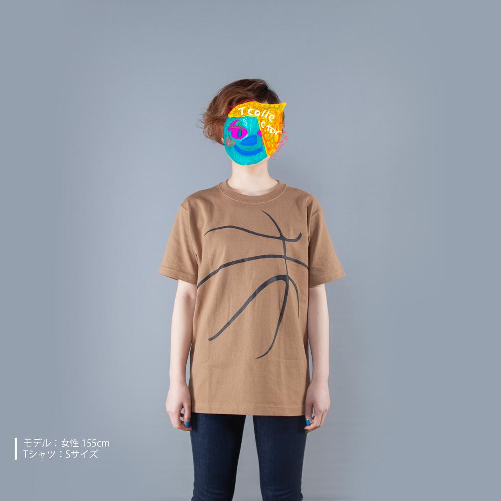 バスケットボールTシャツ女性モデル正面