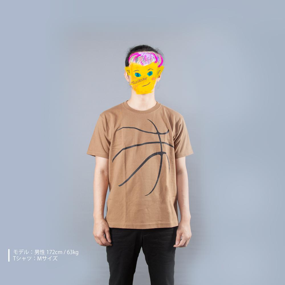 バスケットボールTシャツ男性モデル正面