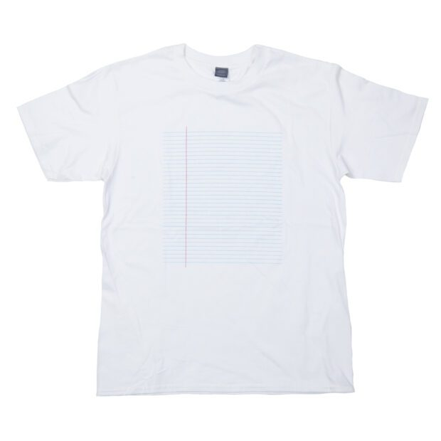 外国のノート プリント Tシャツ