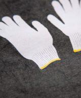 軍手 ワンピース レディースフリーサイズ シルクスクリーン印刷 拡大