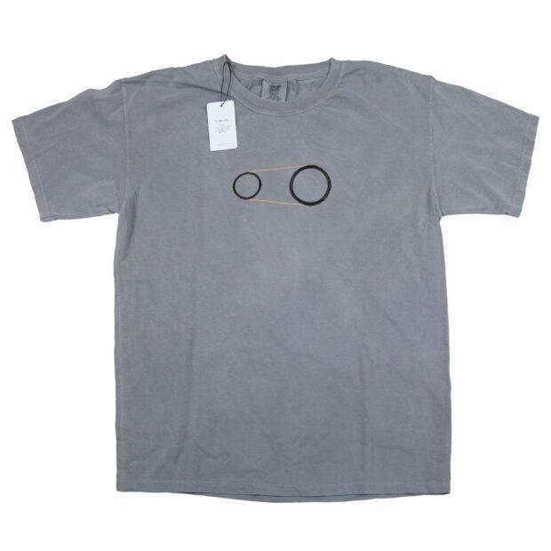歯車 刺しゅう ユニセックス Tシャツ