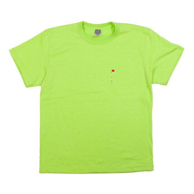 ホールインワン 刺しゅう ユニセックス Tシャツ