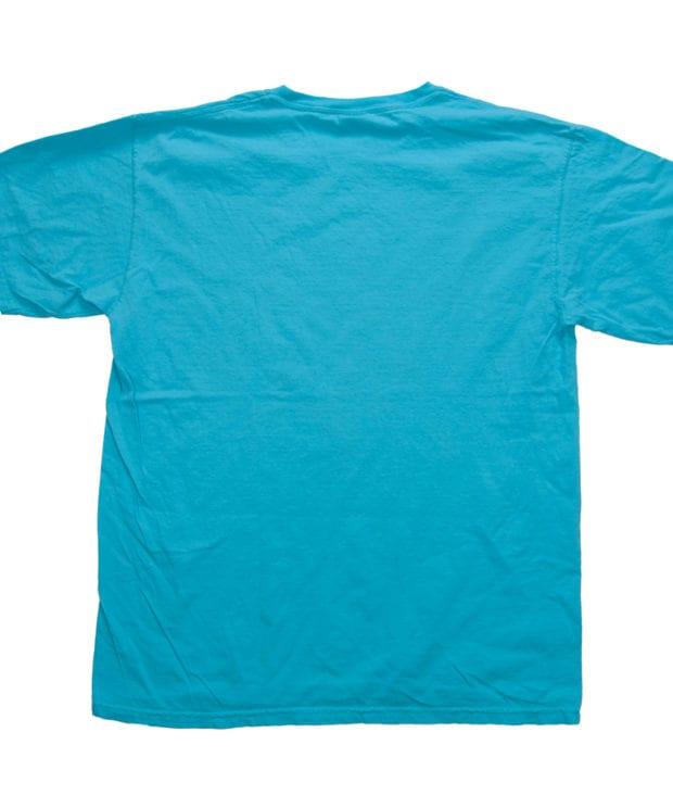 本 プリント ユニセックス Tシャツ バック