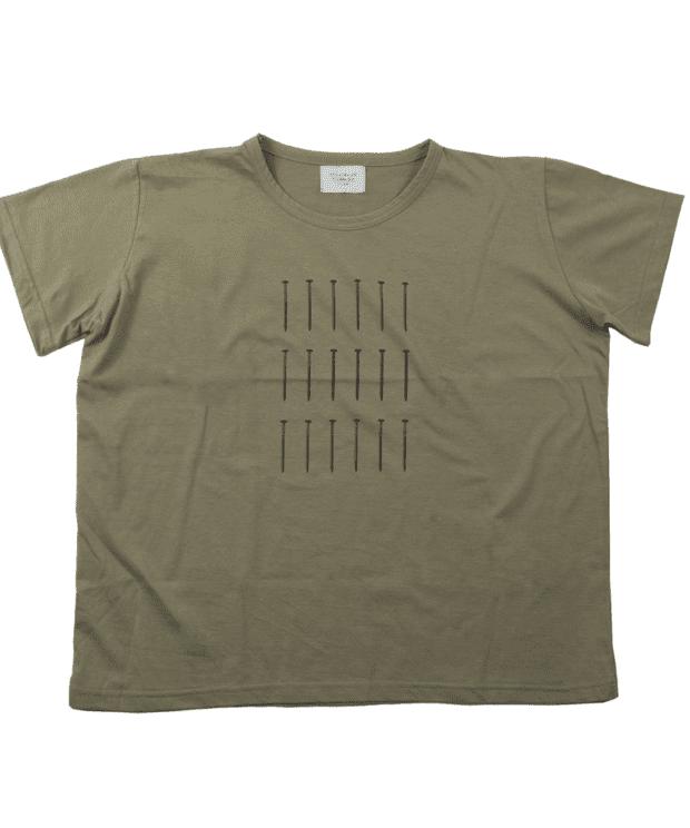 釘 レディース Tシャツ