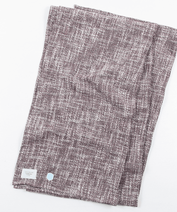 ざっくり編み トリコロールミックス ストール