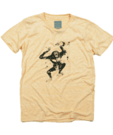 申年 猿の酔拳 動物 ユニセックス Tシャツ