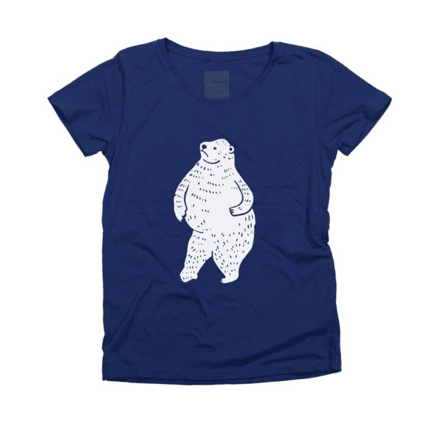 白熊 Tシャツ