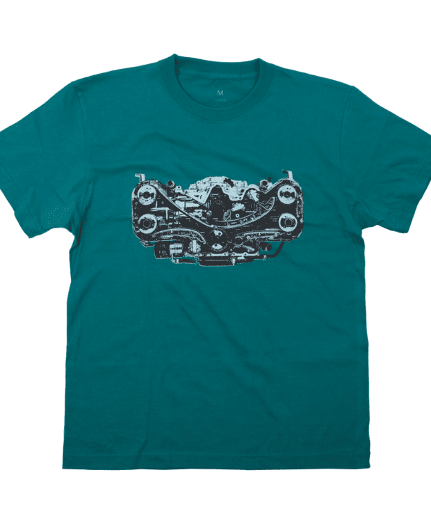 エンジン デザインTシャツ
