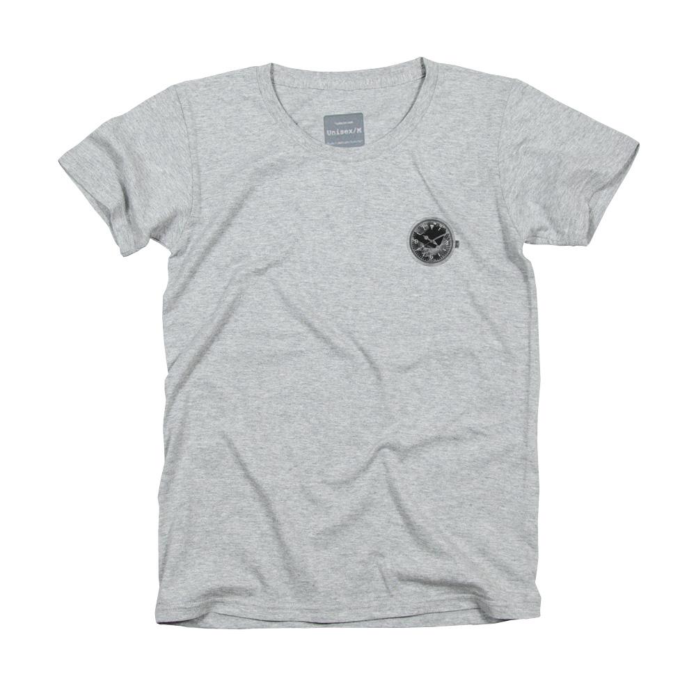 壊れた 時計 Tシャツ