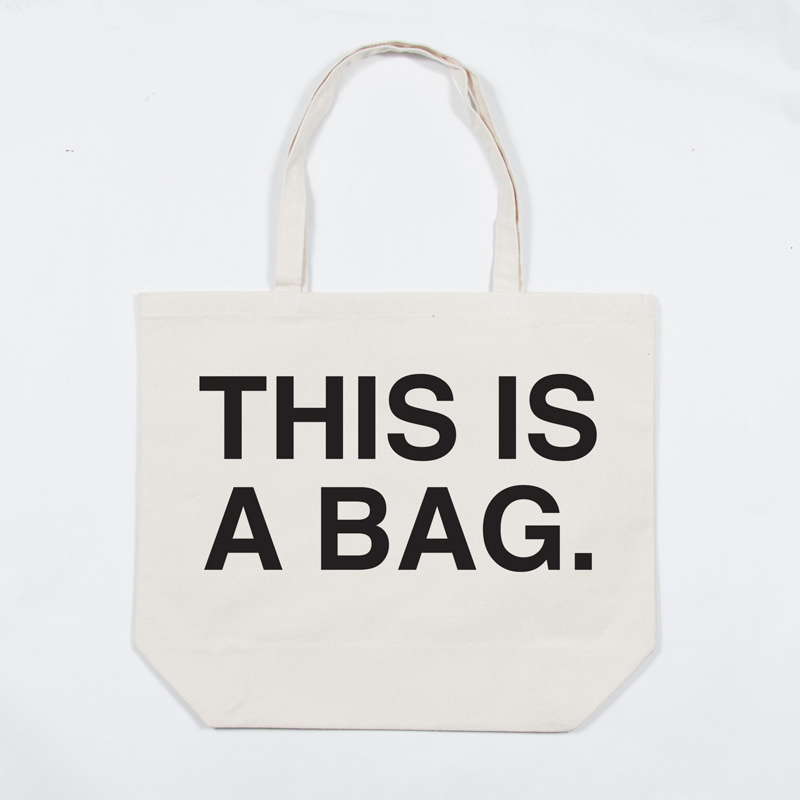 THIS IS A BAG. トートバック