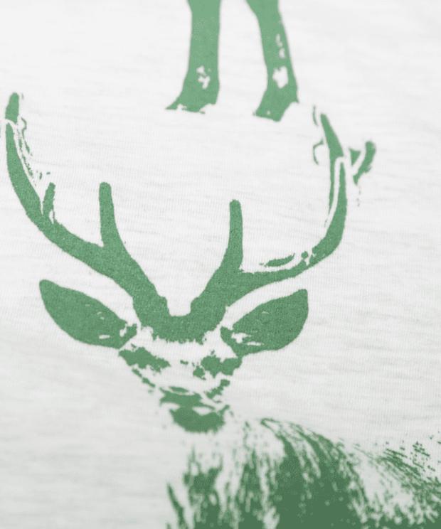 馬鹿Tシャツシルクスクリーン印刷拡大