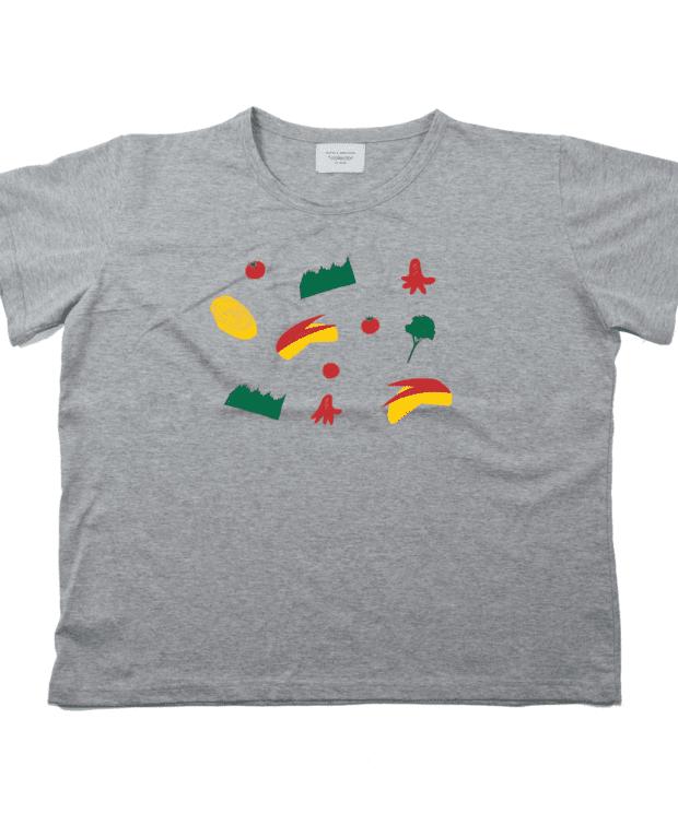おべんとうビッグシルエットレディース Tシャツ バック