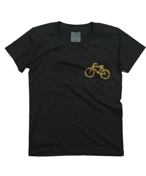 駐輪場 デザインTシャツ