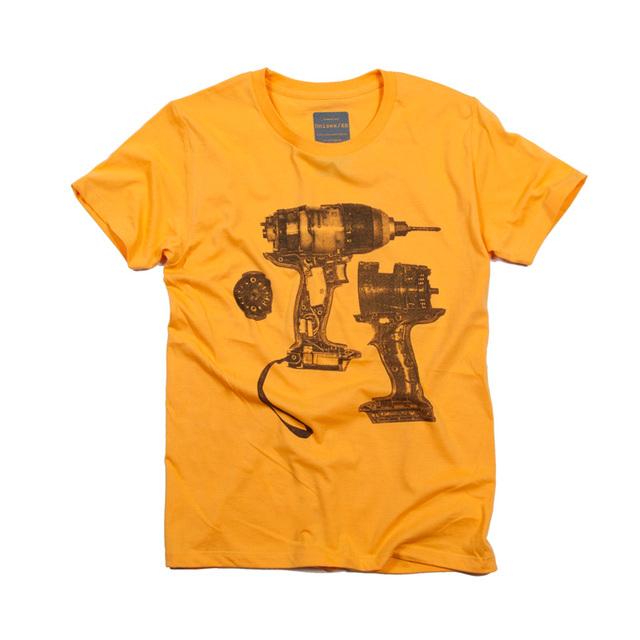 18v インパクトドライバー 電気ドリル デザイン Tシャツ