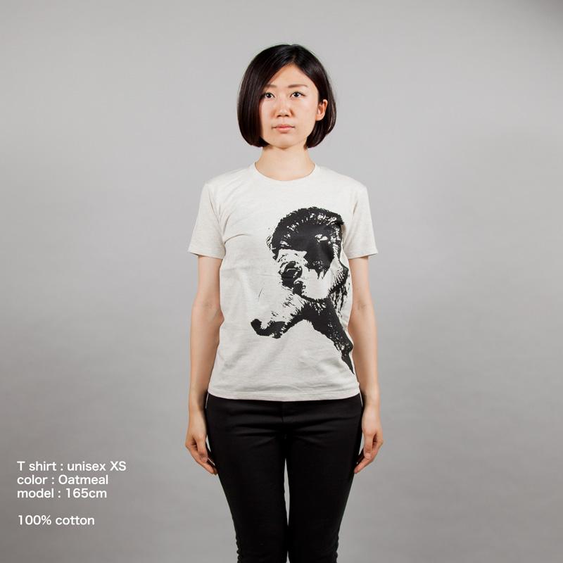 干支未年Tシャツ女性モデル正面