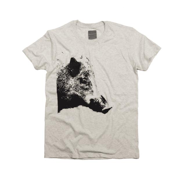 干支 猪(イノシシ年)デザインTシャツ 動物