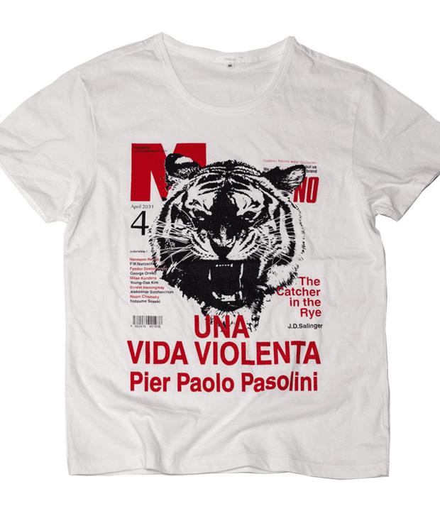 暴力的な生活 デザイン Tシャツ