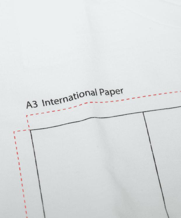 A3, A4, A5, A6 おもしろTシャツ シルクスクリーン印刷拡大