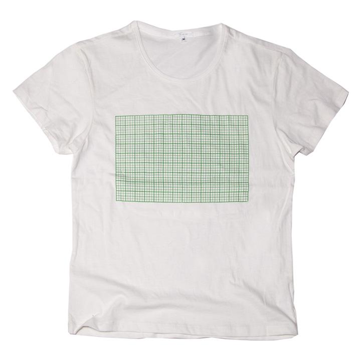 方眼紙 おもしろ Tシャツ