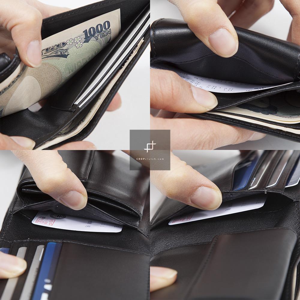 ステッカーの跡 財布