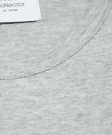 工具一式 ビッグシルエット レディース Tシャツ 首元 拡大