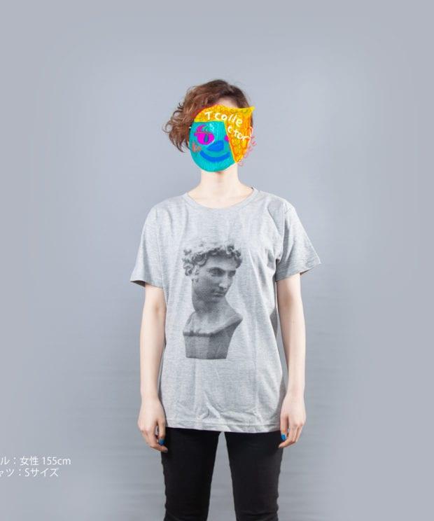 石膏 ジュリアン Tシャツ