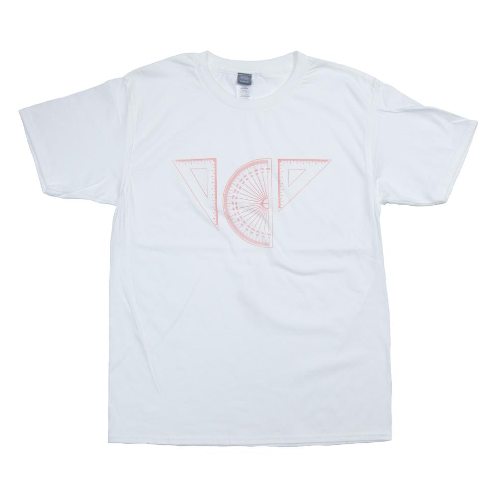 定規一式 ユニセックス プリント Tシャツ