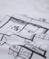 日本の間取り スウェット ユニセックス シルクスクリーン印刷 拡大