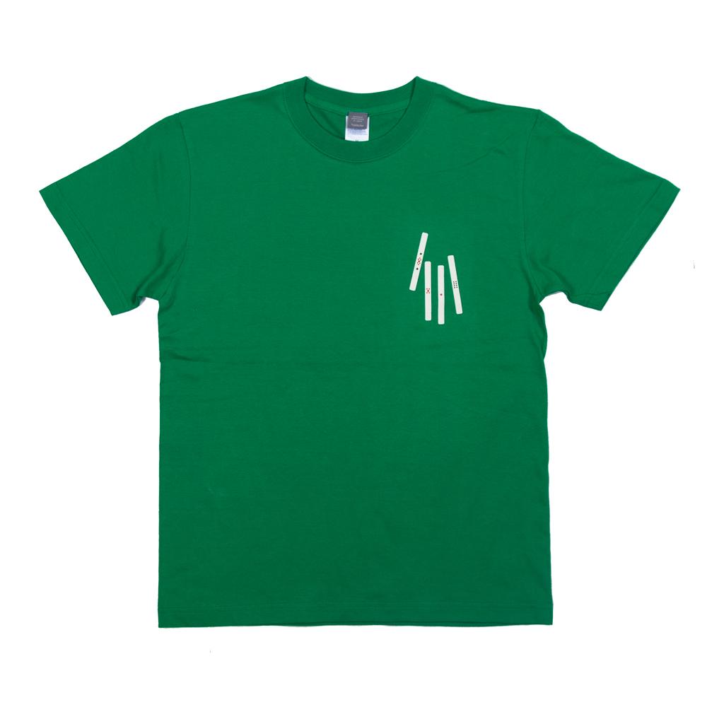 麻雀の点棒 ユニセックス Tシャツ
