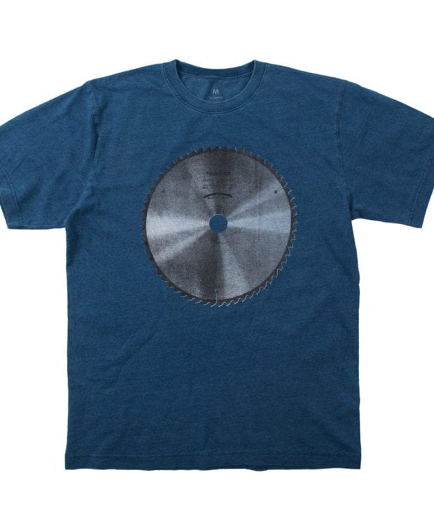 丸ノコの刃 ユニセックス Tシャツ