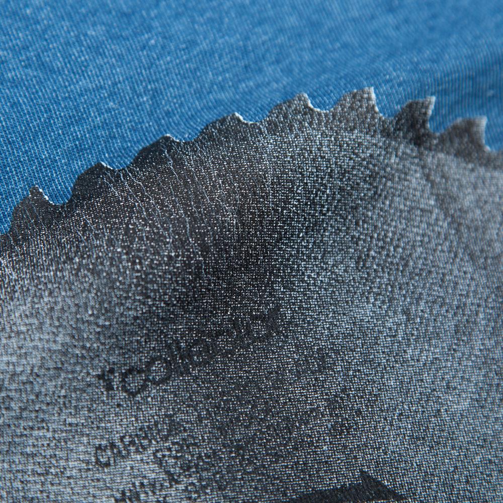 丸ノコTシャツ シルクスクリーン印刷 拡大