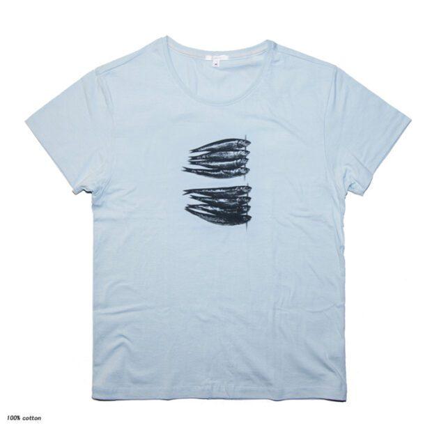 めざし ユニセックス Tシャツ