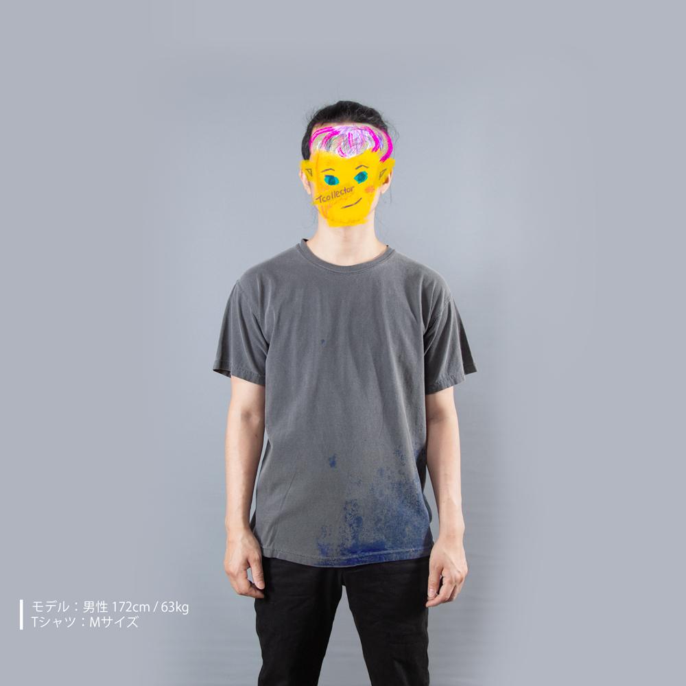 青カビTシャツ男性モデル正面