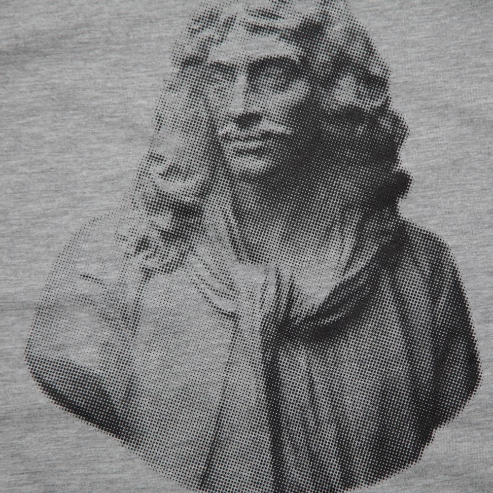 石膏モリエールTシャツ シルクスクリーン印刷 拡大