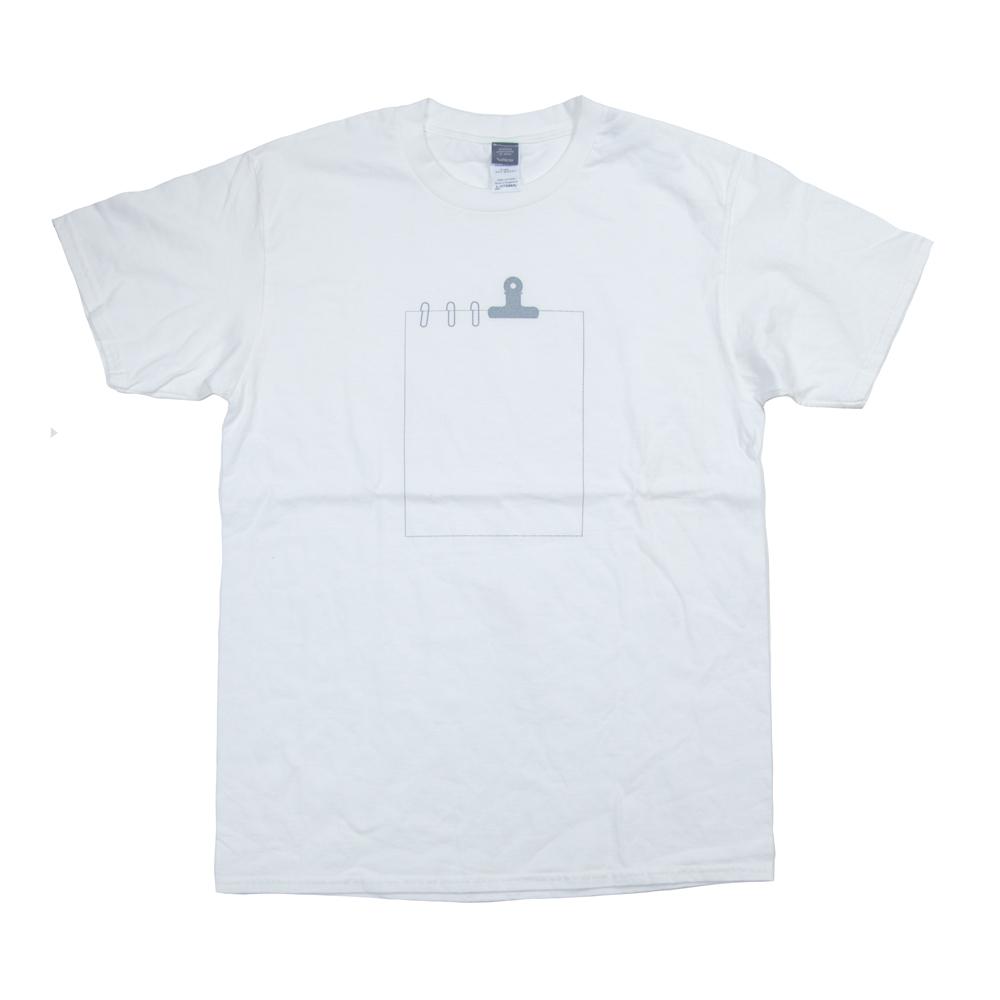 クリップの書類 ユニセックス Tシャツ