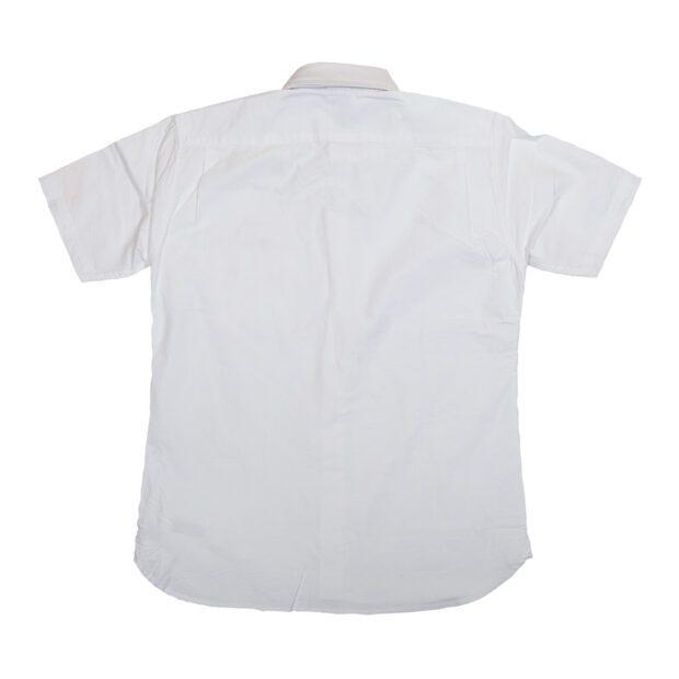 サイコロ 刺繍 オックスフォードシャツ バック