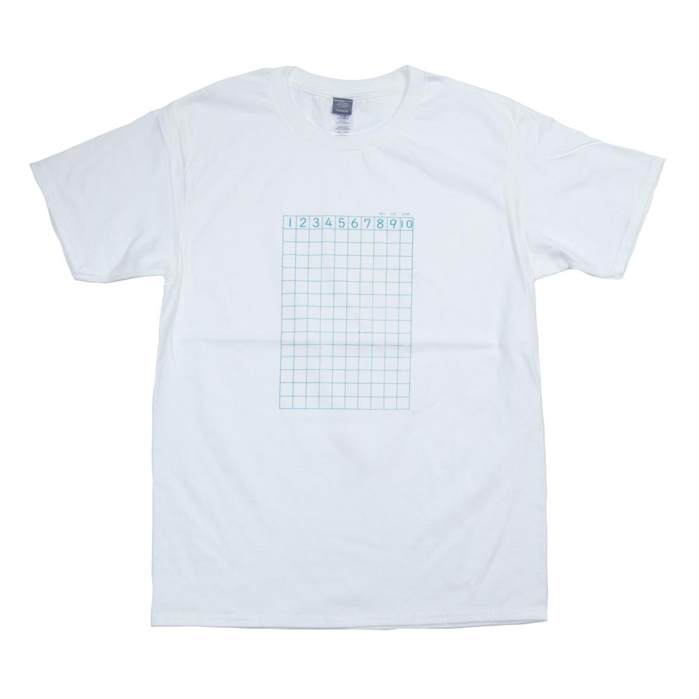 さんすうノート ユニセックス Tシャツ