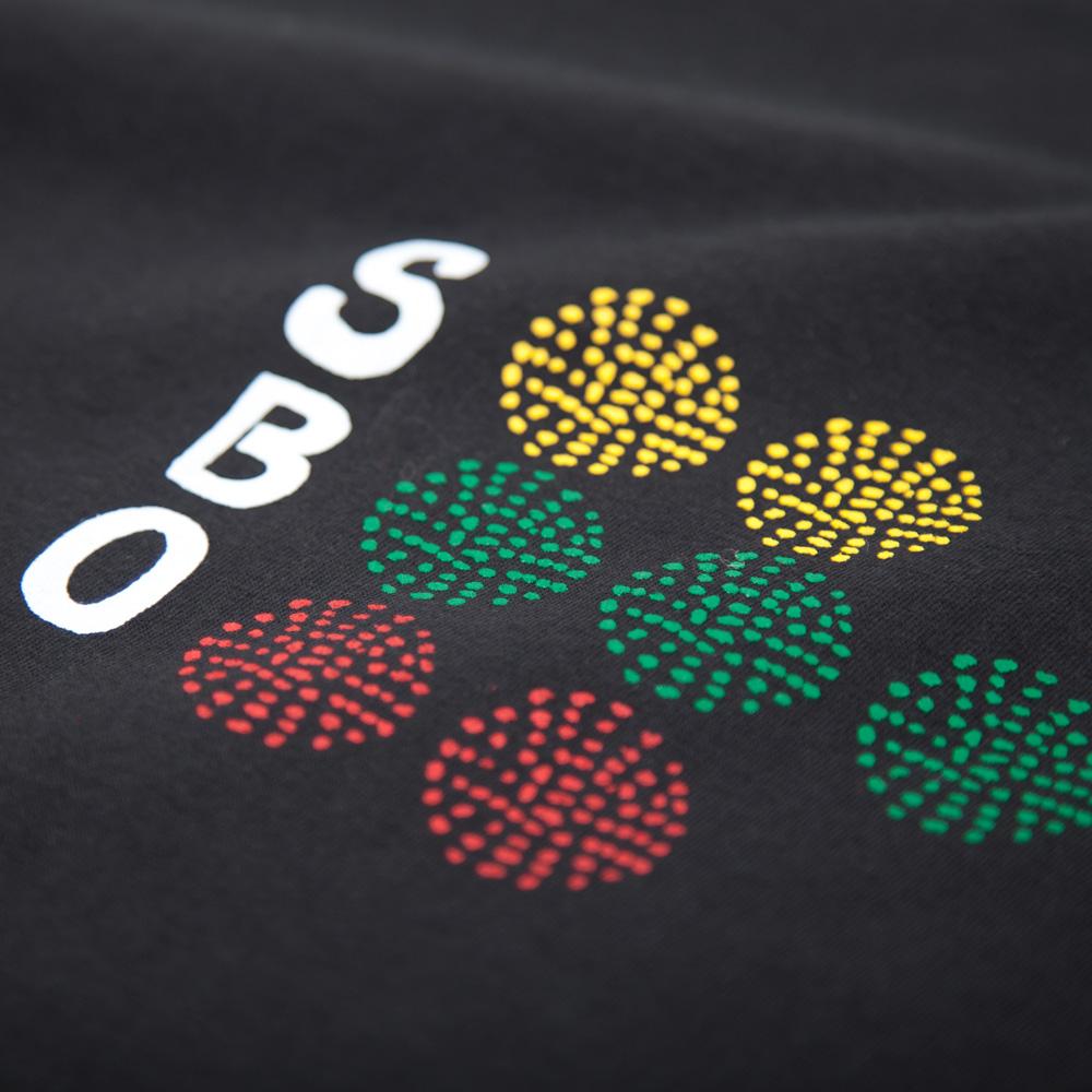 野球 SBO Tシャツ シルクスクリーン印刷 拡大