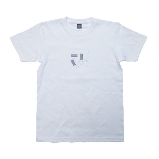 ホチキス ユニセックス Tシャツ