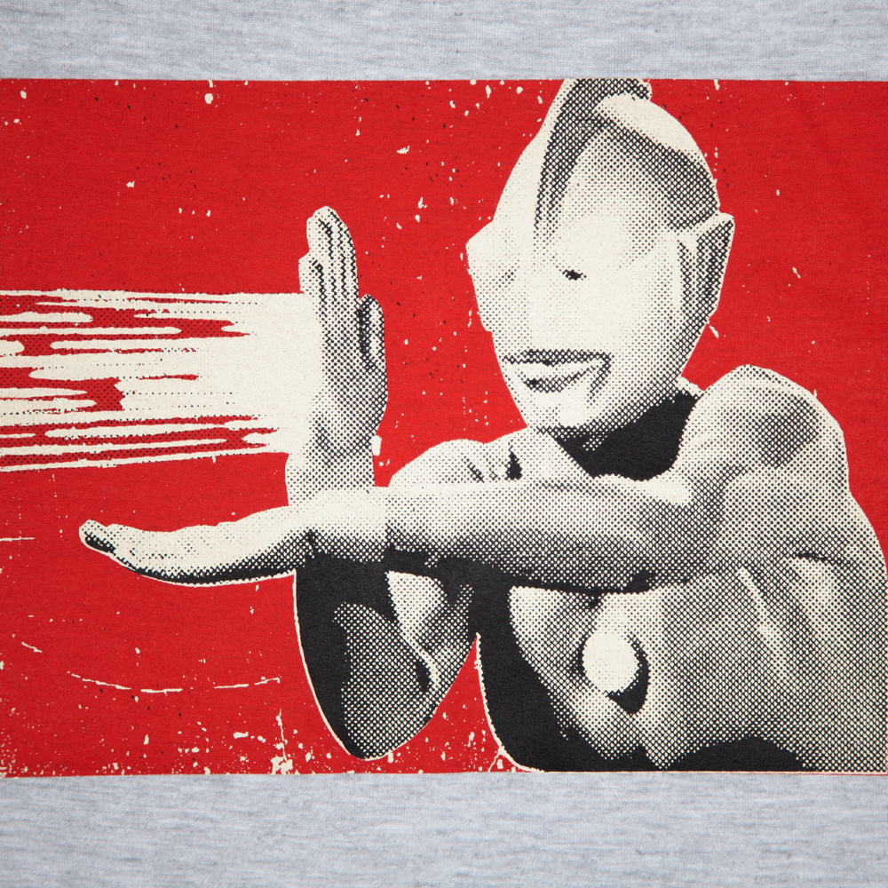 ウルトラマンシリーズ ウルトラマン Tシャツ シルクスクリーン印刷 拡大