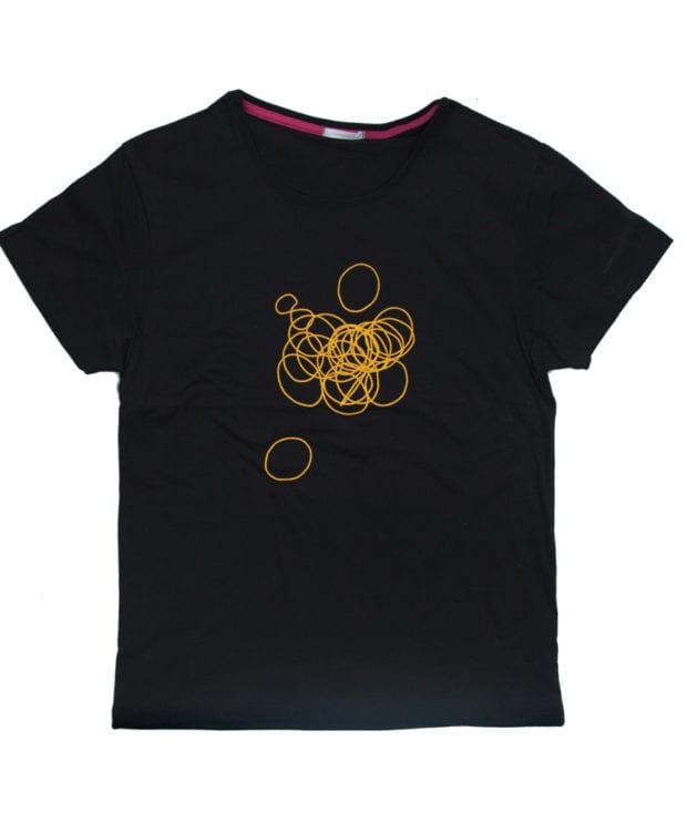 輪ゴム ユニセックス Tシャツ