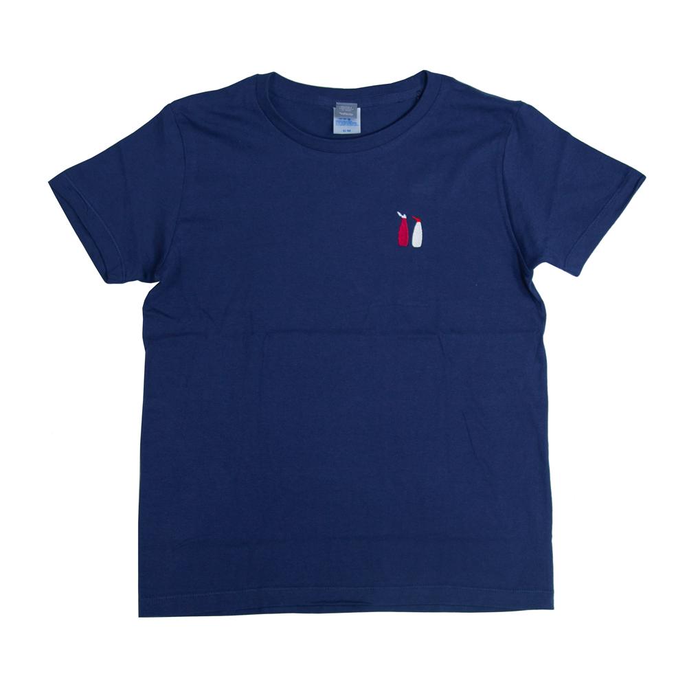 ケチャップ と マヨネーズ 刺繍 Tシャツ