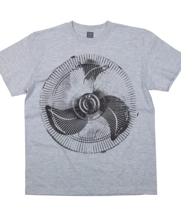 扇風機2 デザインTシャツ