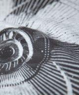 扇風機2 デザインTシャツ シルクスクリーン印刷拡大