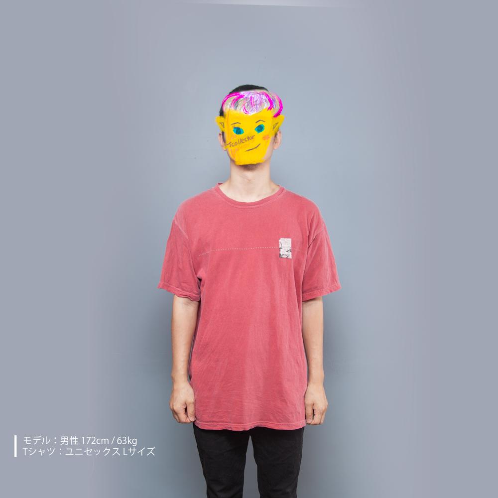 シリカゲル ユニセックス Tシャツ 男性モデル正面
