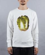 白菜 スウェット 男性モデル