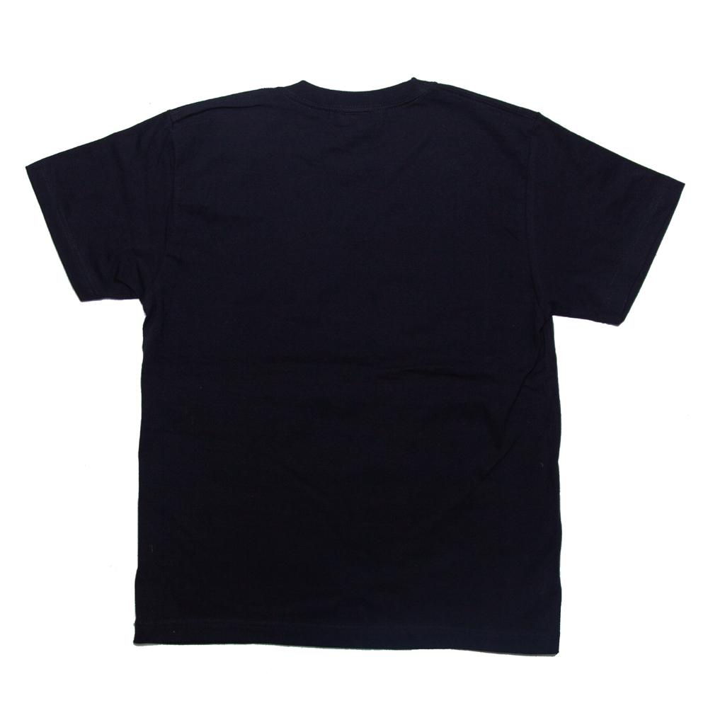 コーヒー豆のイラスト Tシャツ 裏面